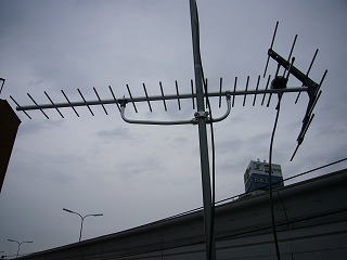 DXアンテナUSL25DAでのアンテナ工事