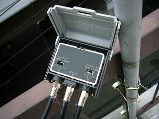 特定地域用UU混合器での受信
