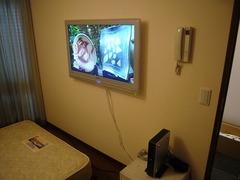 テレビの壁掛け設置の画像