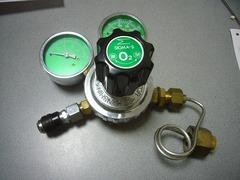 ガス溶接機から酸素漏れの画像