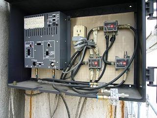 アンテナケーブルの確認の画像