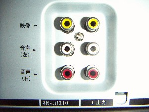 ビデオケーブル接続の画像