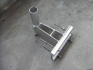 BSアンテナ金具の取付の画像